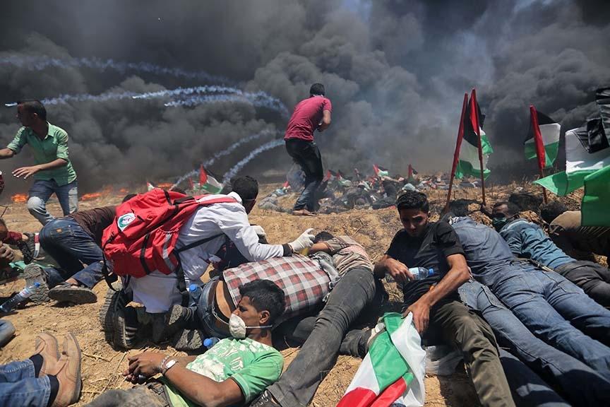 Kudüs protestosunda İsrail katliamı 1