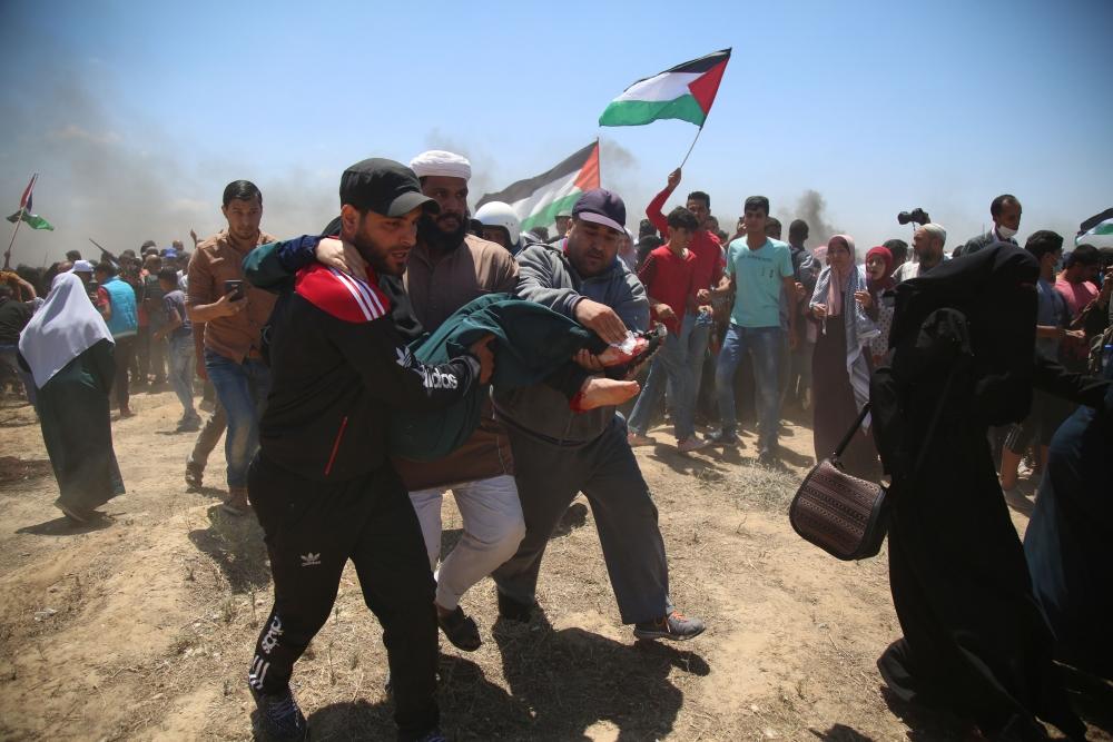 Kudüs protestosunda İsrail katliamı 10