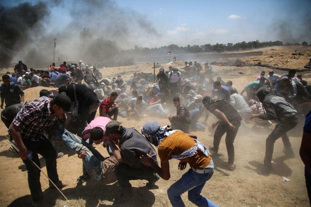 Kudüs protestosunda İsrail katliamı 13