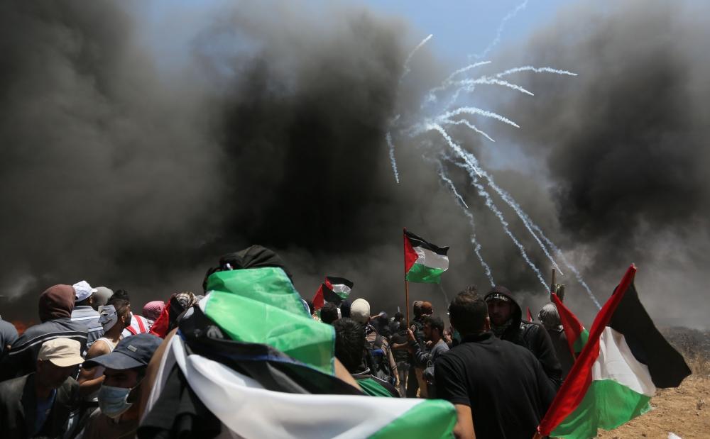 Kudüs protestosunda İsrail katliamı 15