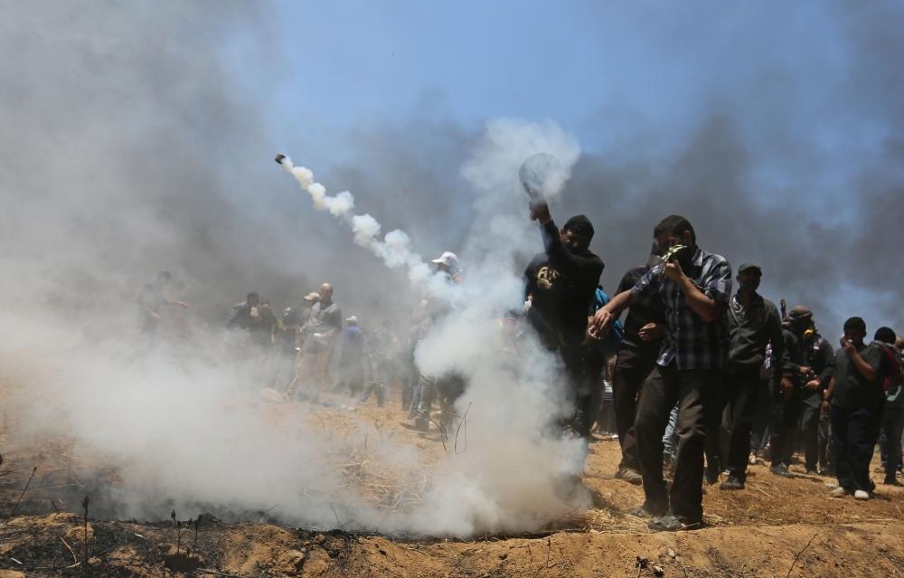 Kudüs protestosunda İsrail katliamı 17