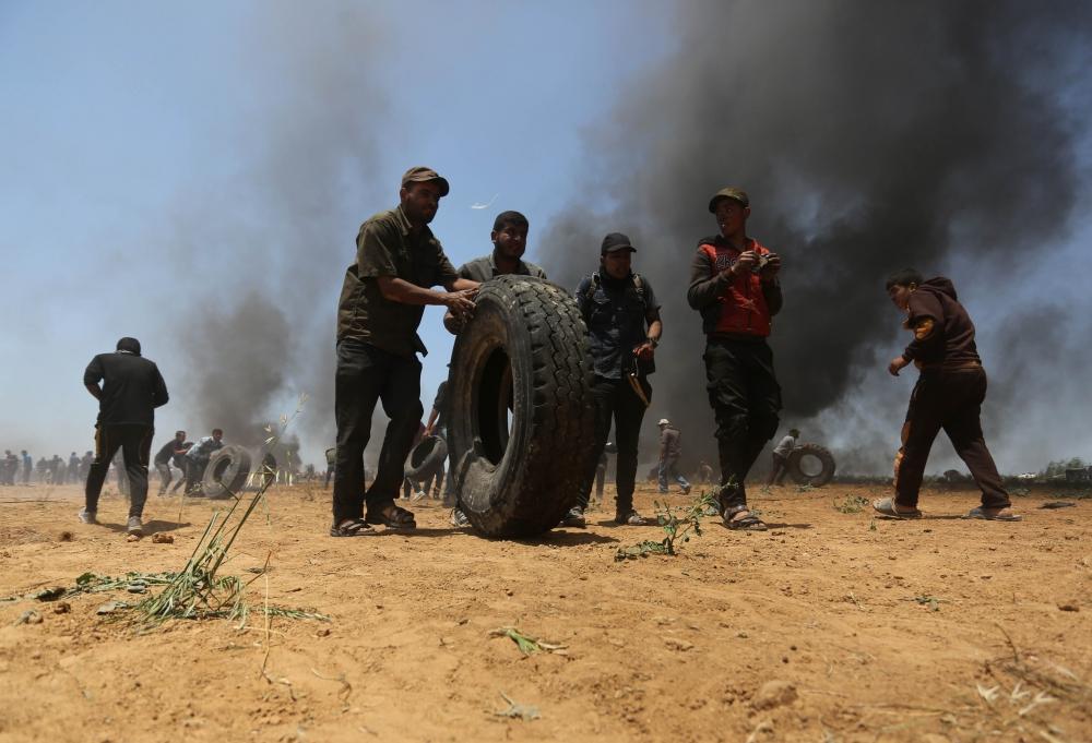 Kudüs protestosunda İsrail katliamı 18
