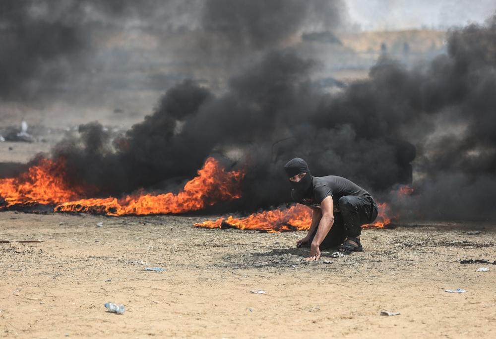 Kudüs protestosunda İsrail katliamı 19