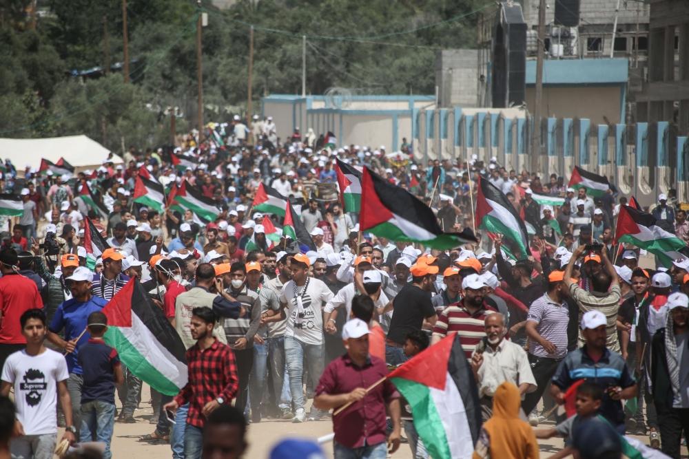 Kudüs protestosunda İsrail katliamı 2