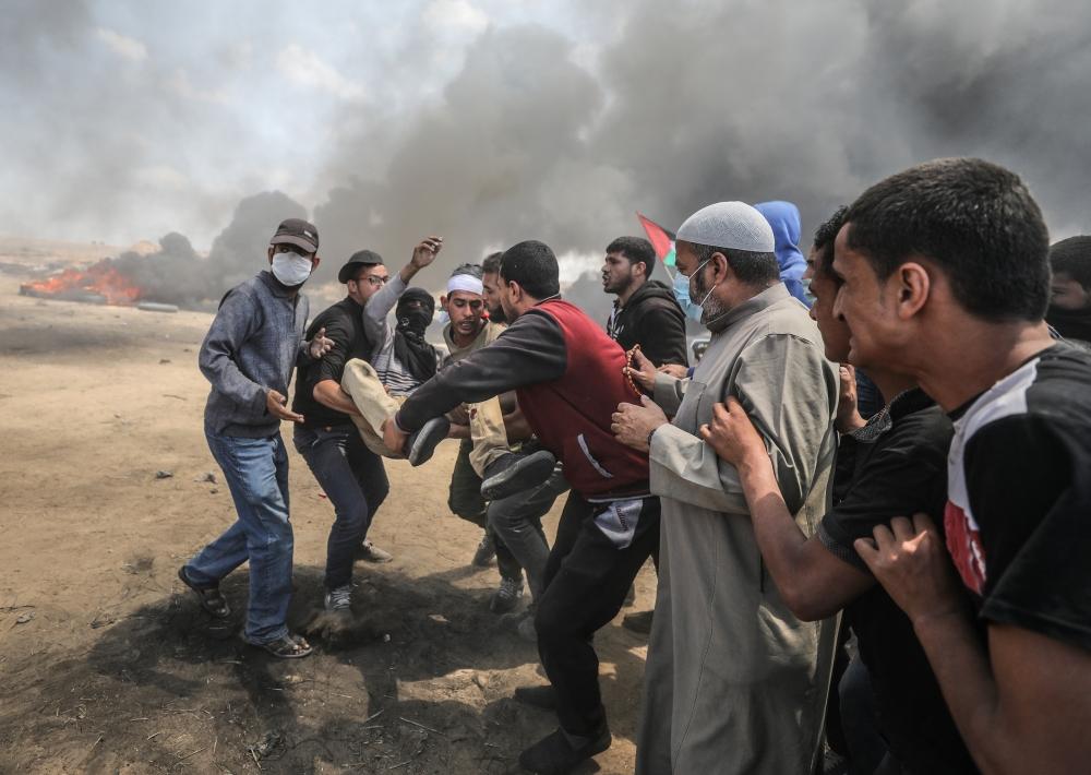 Kudüs protestosunda İsrail katliamı 20