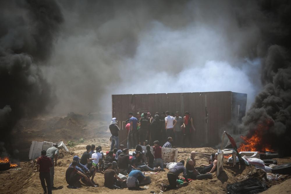 Kudüs protestosunda İsrail katliamı 3
