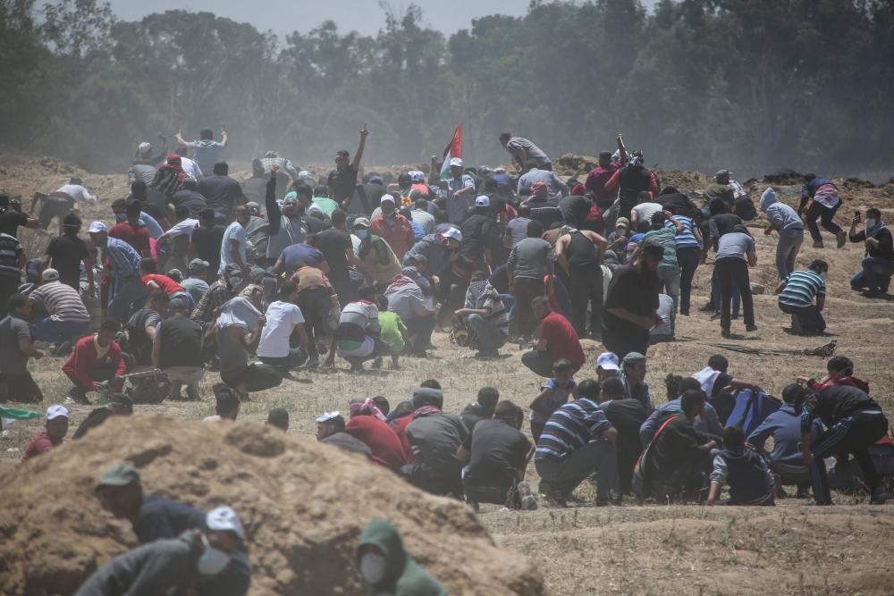 Kudüs protestosunda İsrail katliamı 6