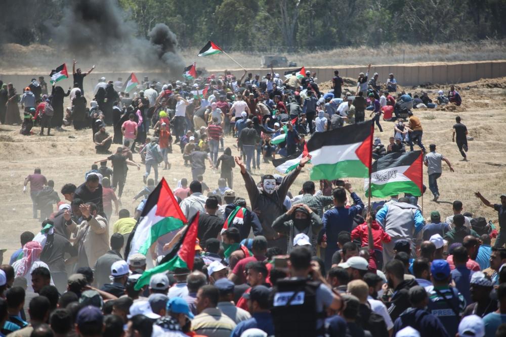 Kudüs protestosunda İsrail katliamı 7