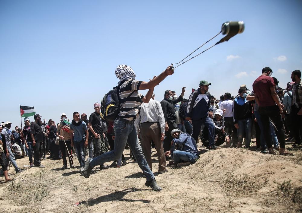 Kudüs protestosunda İsrail katliamı 9