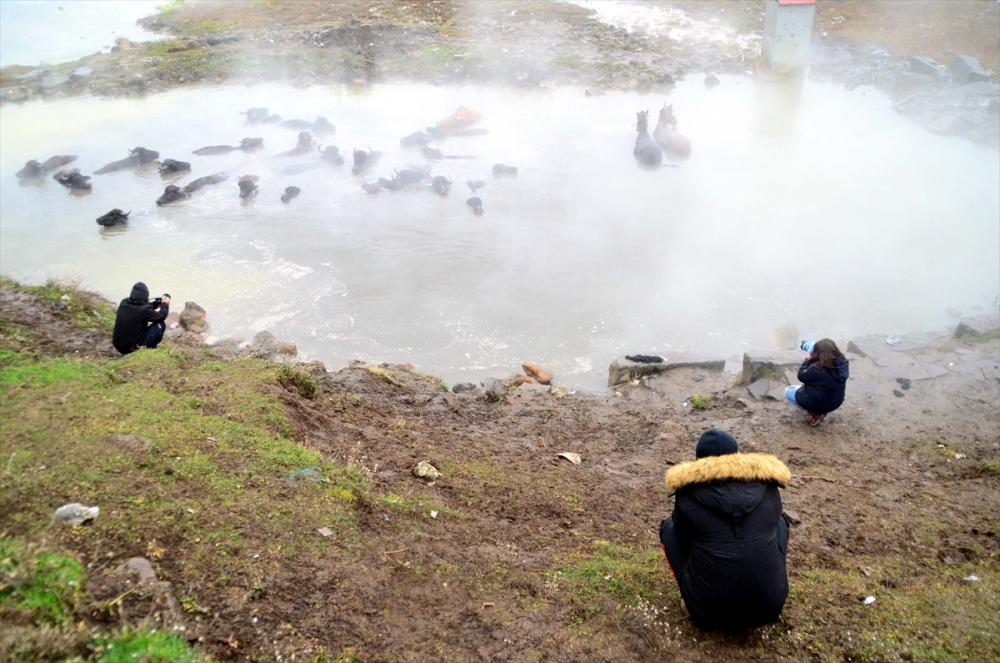 Budaklı kaplıcasına fotoğrafçıların yoğun ilgisi 6