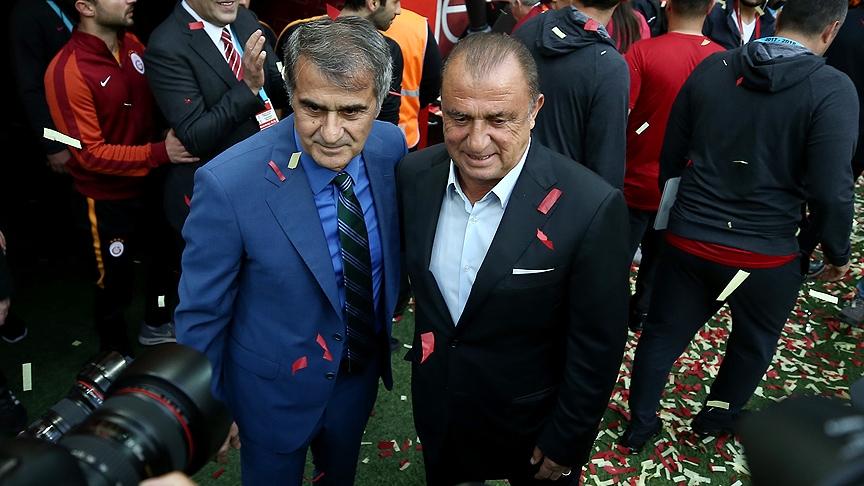 Galatasaray'dan Beşiktaş derbisinin önemli anlarından fotoğraflar 11