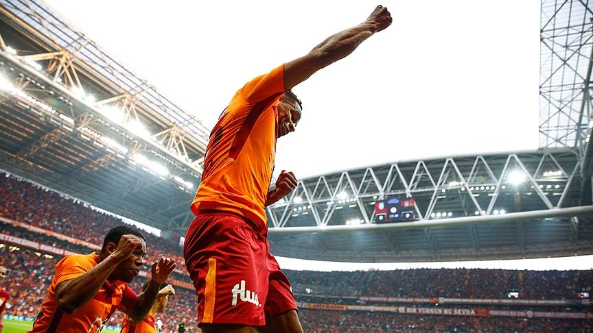 Galatasaray'dan Beşiktaş derbisinin önemli anlarından fotoğraflar 4