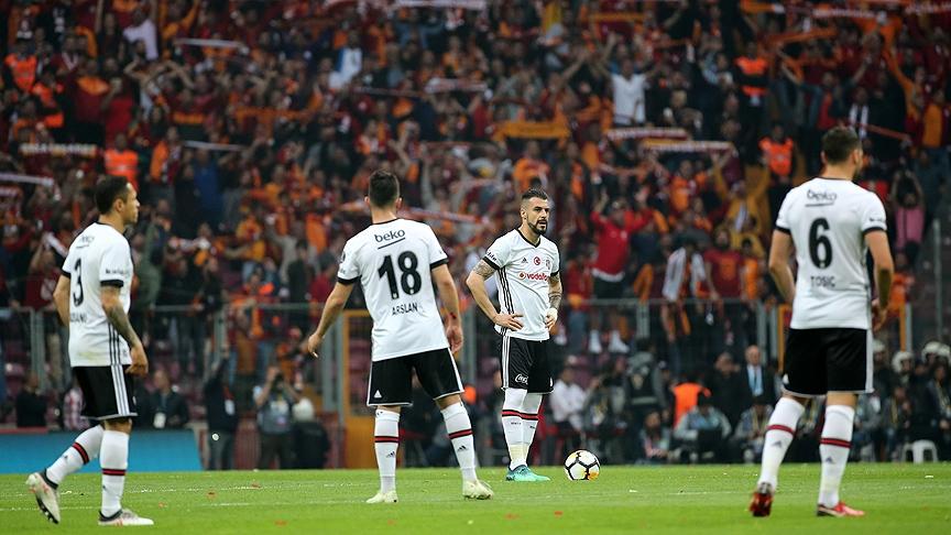 Galatasaray'dan Beşiktaş derbisinin önemli anlarından fotoğraflar 9