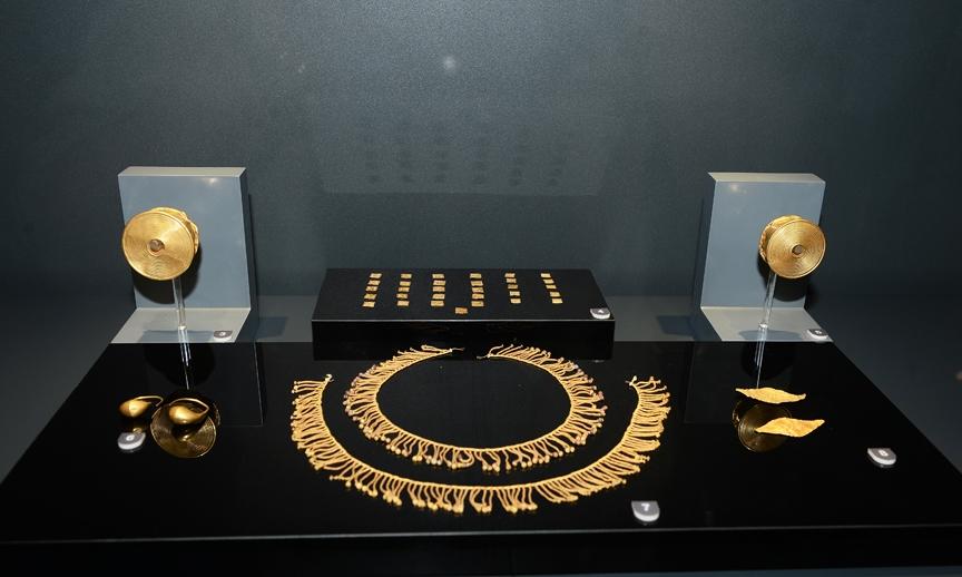 Karun Hazineleri yeni müzesinde 2