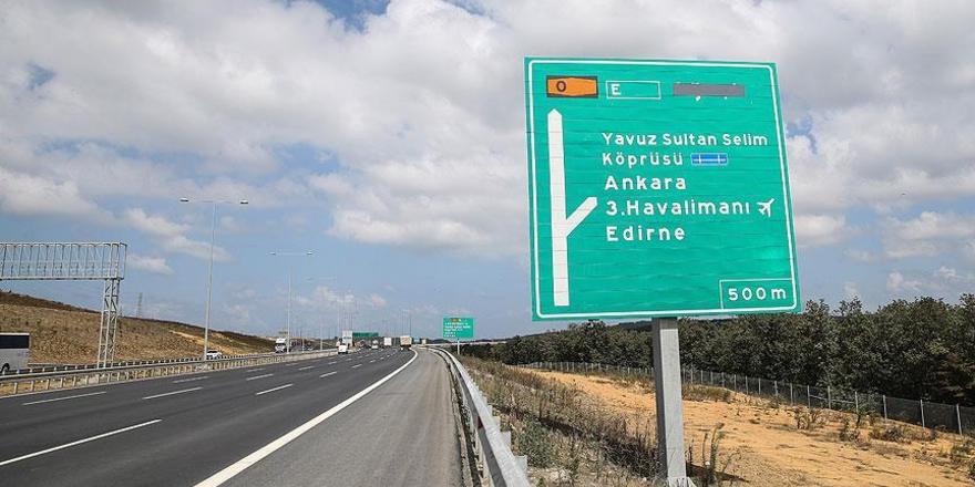 Kuzey Marmara Otoyolu'nun bir kısmı trafiğe açıldı