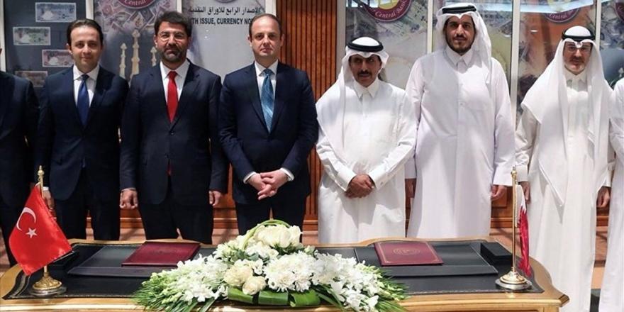 Türkiye ve Katar merkez bankaları anlaşma imzaladı