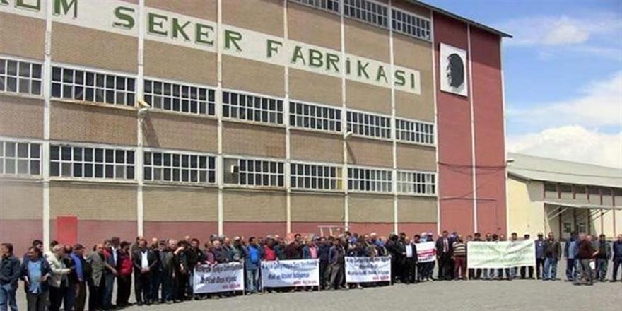 Erzurum Şeker Fabrikası ihalesinde teklif veren olmadı.