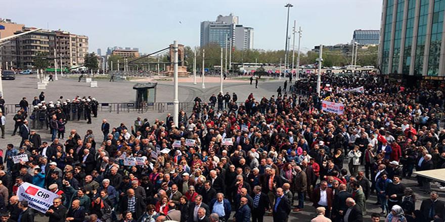 Polis, Taksim Meydanı'na izin vermedi