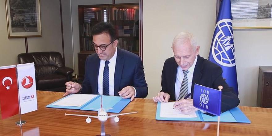 THY ve IOM arasında uzun dönemli ortaklık anlaşması imzalandı
