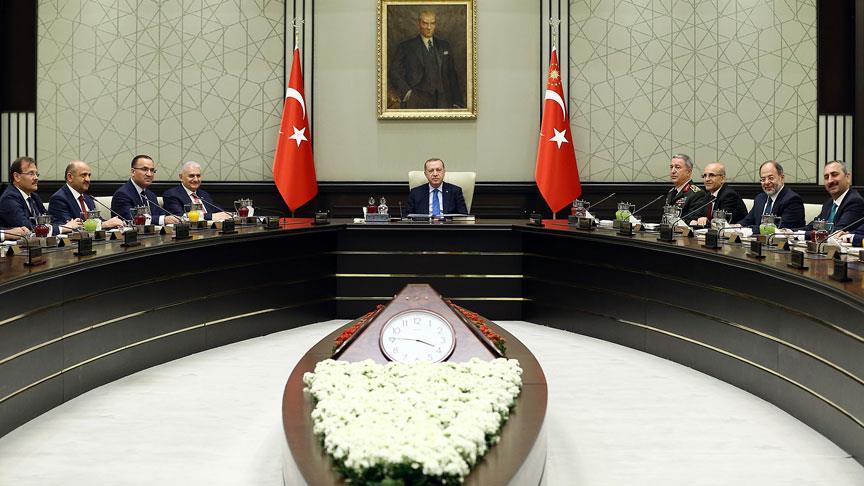 MGK toplantısı sona erdi: OHAL'in uzatılması için tavsiye kararı