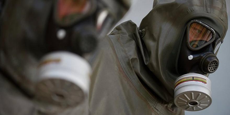 Duma'da kimyasal silah maddelerinin bulunduğu bir depo bulundu