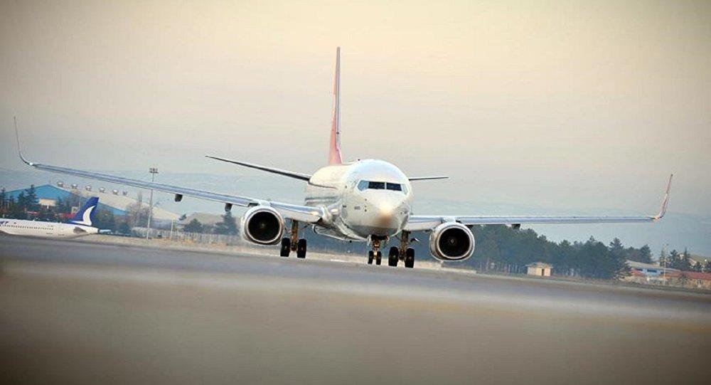 Adana'da Suudi uçağında uyuşturucu araması