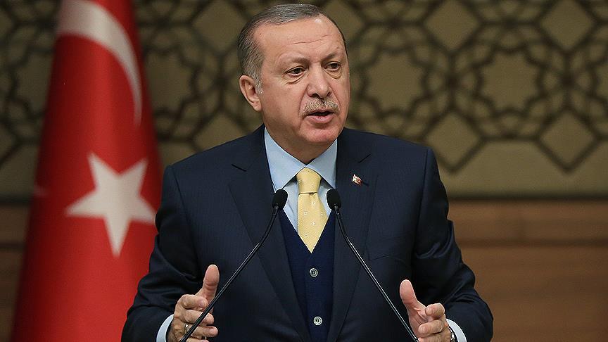 Erdoğan: 24 Haziran 2018 tarihinde erken seçim olacak