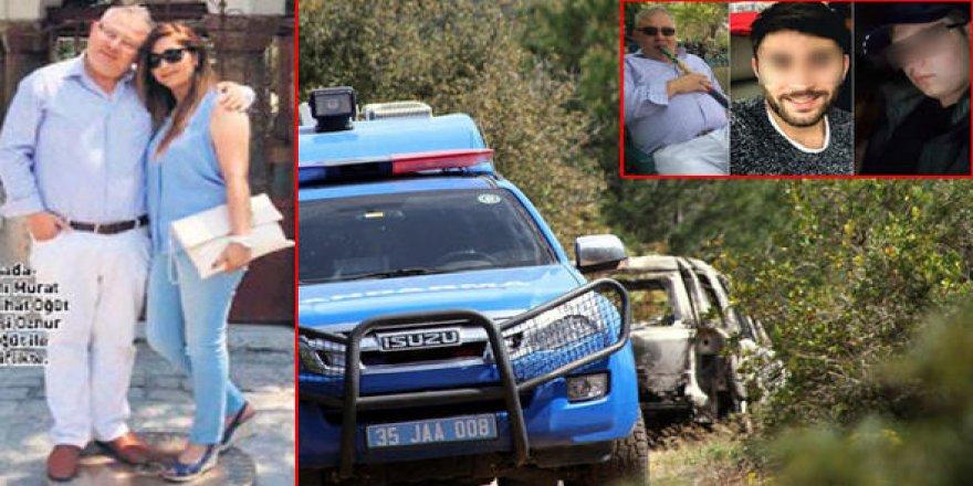 Diri diri yakılarak öldürülen iş adamının karısı ve çocukları tutuklandı!