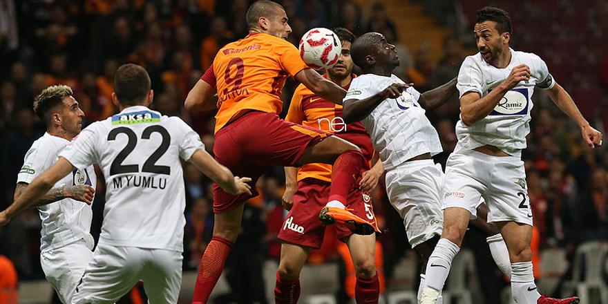 Galatasaray'da kupa hüsranı
