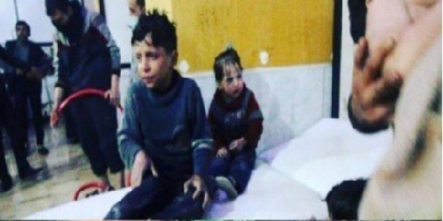 Duma'daki kimyasal saldırı mizansen miydi? Sedyedeki çocuk röportaj verdi!