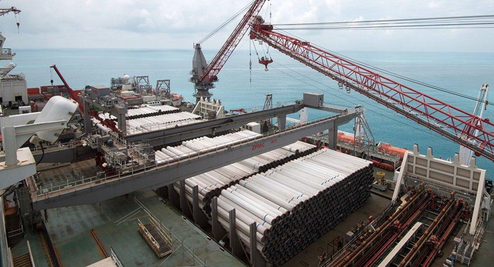 Gazprom, Türk Akımı'nın karadan geçen kısmının Türkiye'deki ikinci kolunun inşasına 2019'da başlayacak