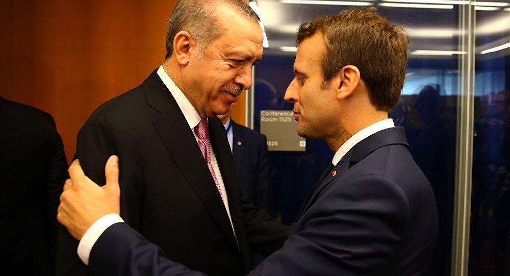 Fransa'da Cumhurbaşkanı Erdoğan'a 11 Kasım protestosu