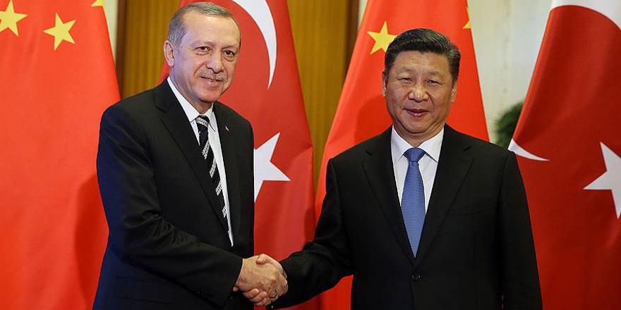 Cumhurbaşkanı Erdoğan ile Çin Devlet Başkanı Şi ile telefonda Suriye'yi görüştü