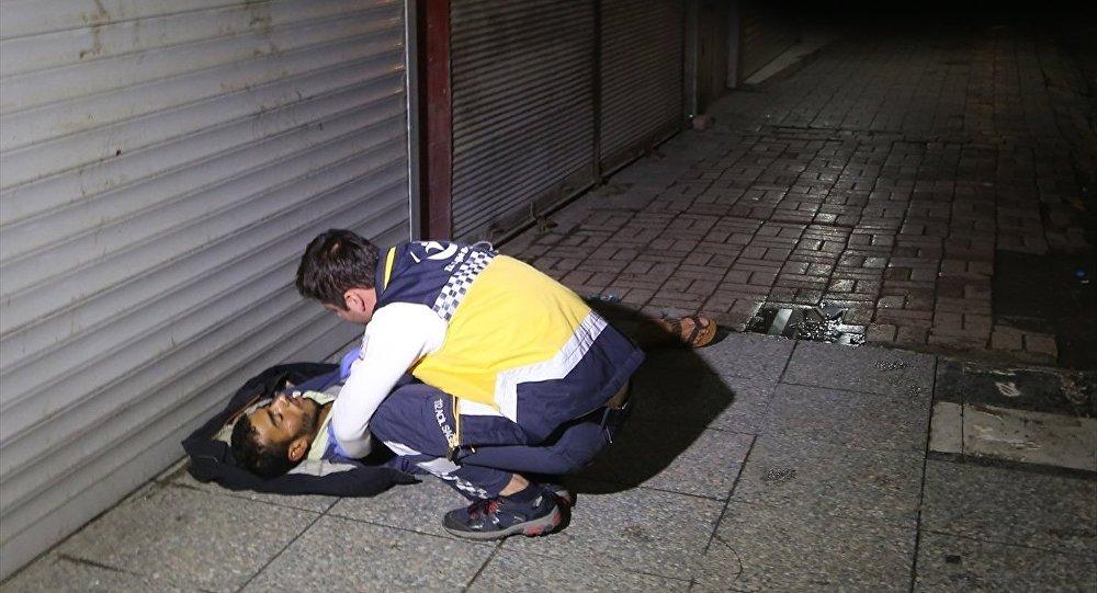 Öldü sanılan kişi alkollü çıktı