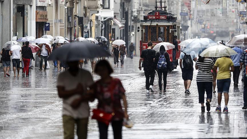 İstanbul'da iki gün sağanak etkili olacak