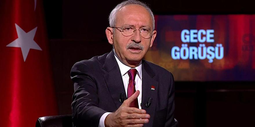 CHP lideri Kılıçdaroğlu ittifak yapacakları partileri açıkladı