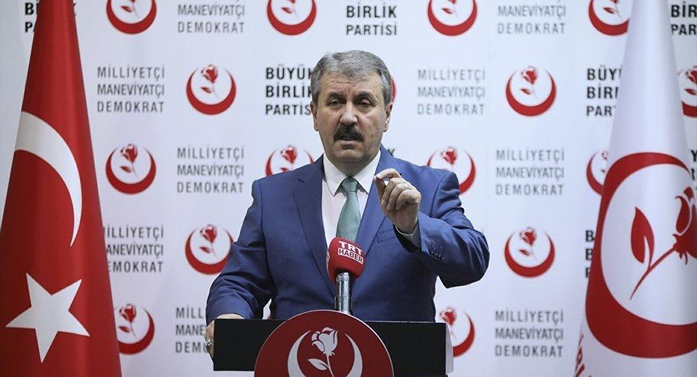 Mustafa Destici: İktidarın inat etmemesi lazım