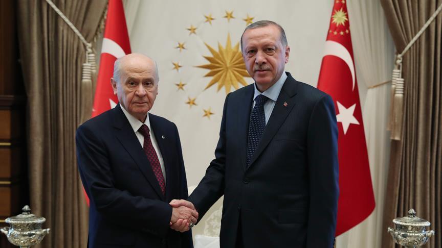Cumhurbaşkanı Erdoğan, Bahçeli'yle 'lokal ittifak'ı konuşacak