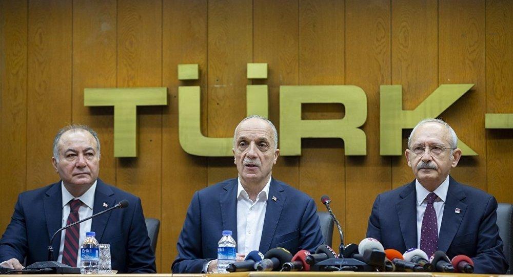 Türk-İş'in asgari ücret teklifi