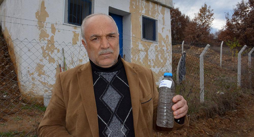'Köyün içme suyuna atık motor yağı karıştırıldı' iddiası
