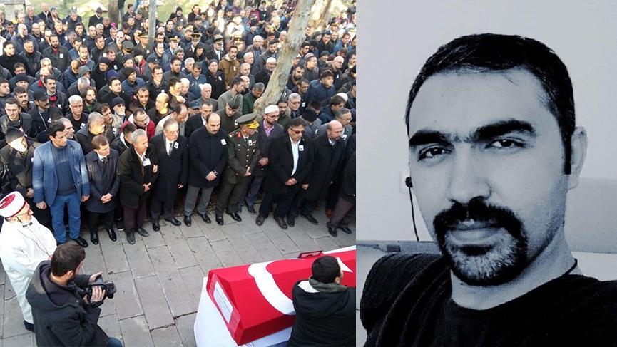 Şehit polis Ali Teke toprağa verildi