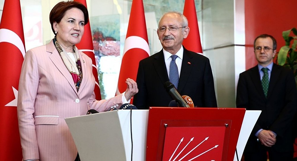 CHP-İYİ Parti ittifak görüşmelerinde yeni gelişme