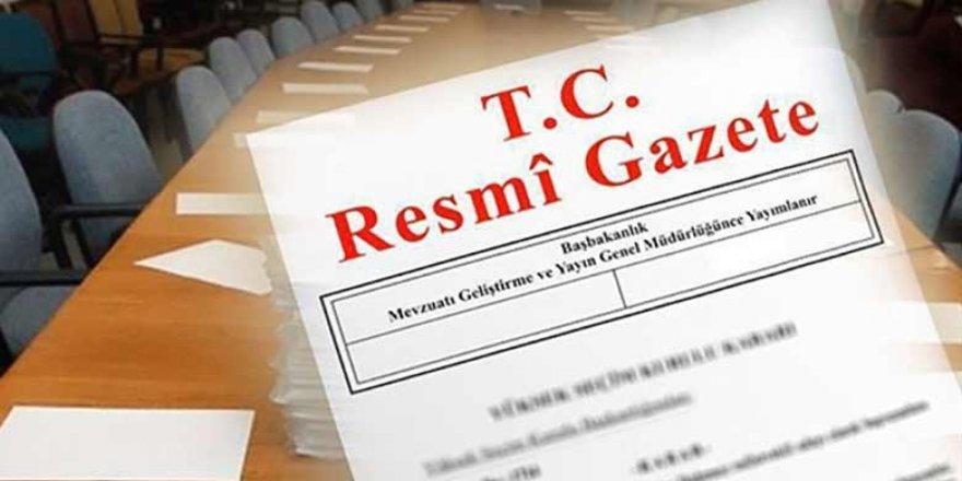 Erken seçim kararı Resmi gazetede yayımlandı.