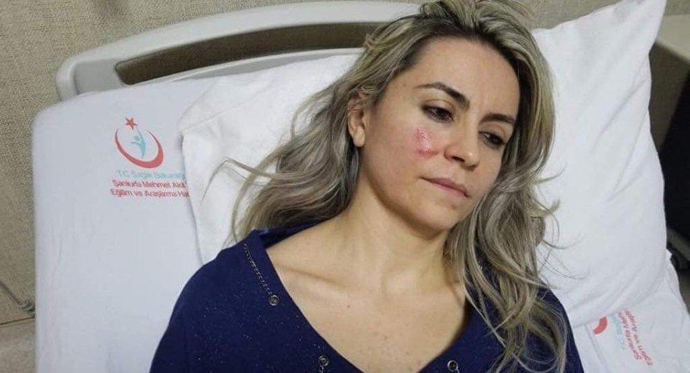 Çürük raporu vermeyen kadın doktoru darp etti