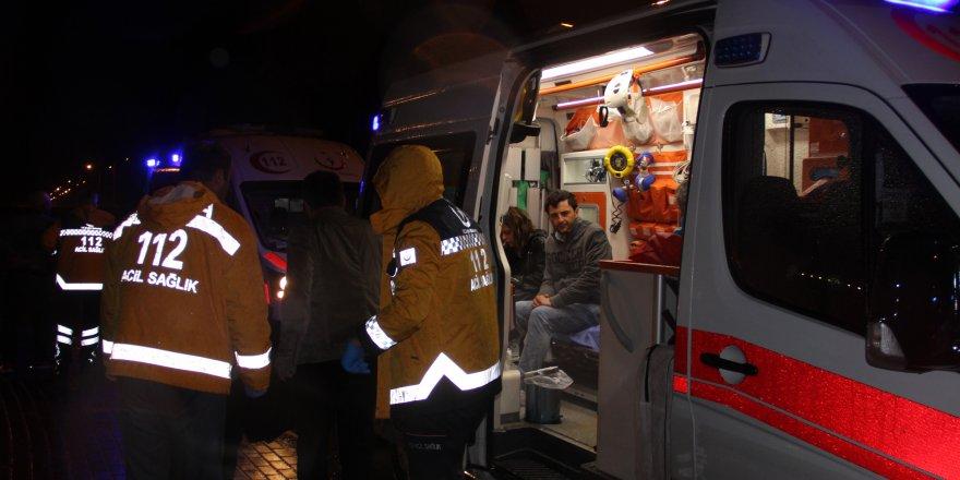 Yolcu otobüsü şarampole yuvarlandı, çok sayıda yaralı var!
