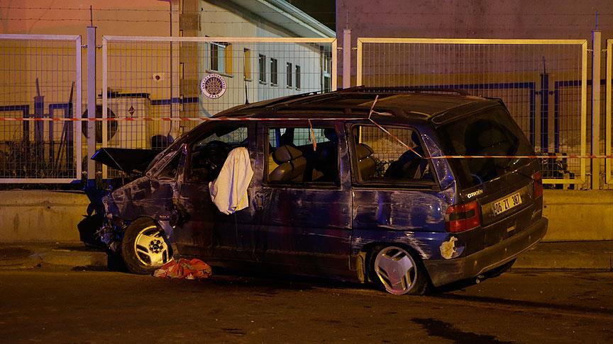 Başkentte asker eğlencesi dönüşü kaza: 2 ölü, 2 yaralı