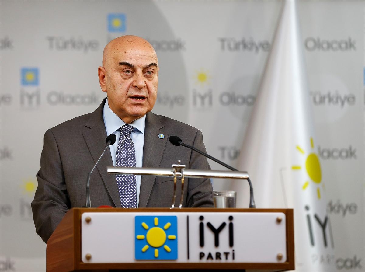 """İYİ Parti'den """"Binali Yıldırım"""" açıklaması"""