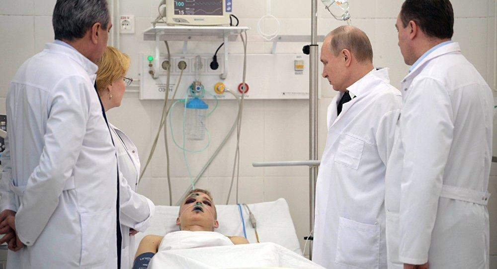 Putin AVM yangınına ilişkin konuştu