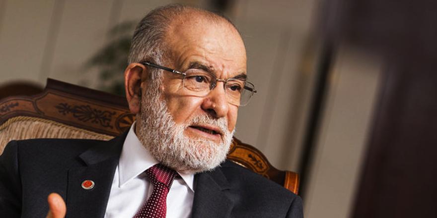 Saadet lideri Karamollaoğlu'ndan partilere hazine yardımı tepkisi