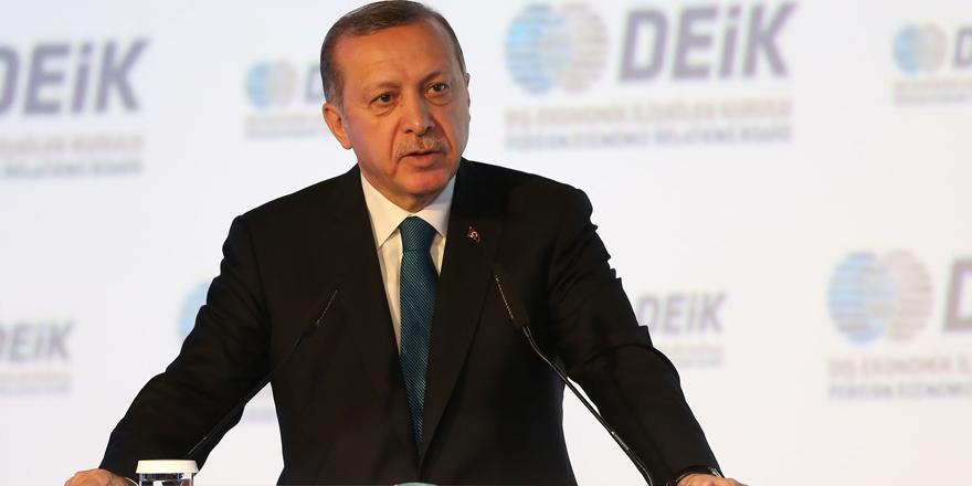 Erdoğan'dan parasını yurtdışına kaçıran işadamlarına ağır eleştiri
